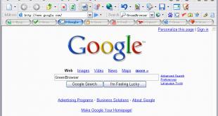 تحميل برنامج greenbrowser لتصفح الإنترنت2