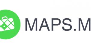 برنامج maps me