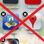 طريقة حذف برامج الايفون
