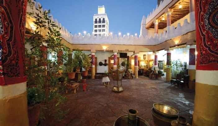 المطعم التراثي فى الحائل
