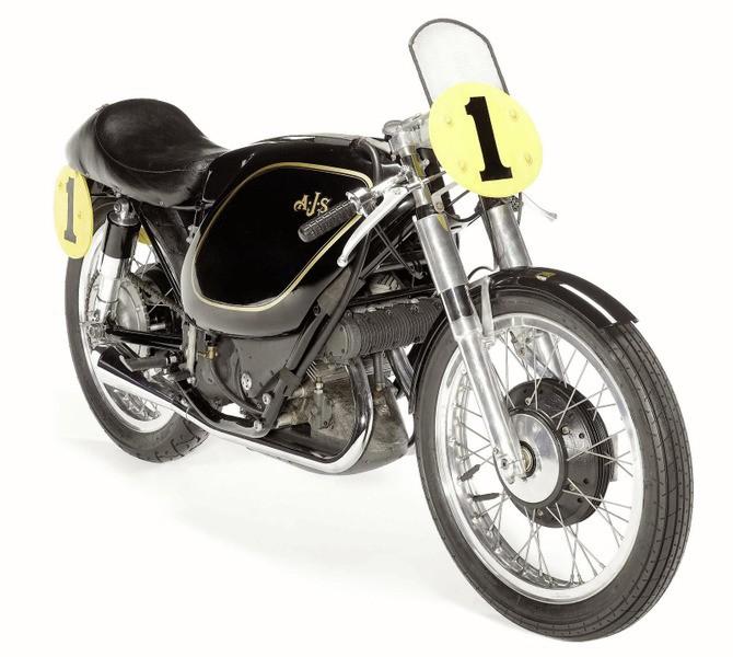 2. آي جاي أس 500 سي سي بوركاباين 1954 - 1954 AJS 500 cc Porcupine