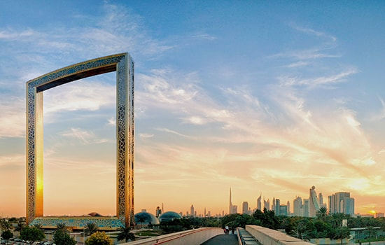 البرواز دبي
