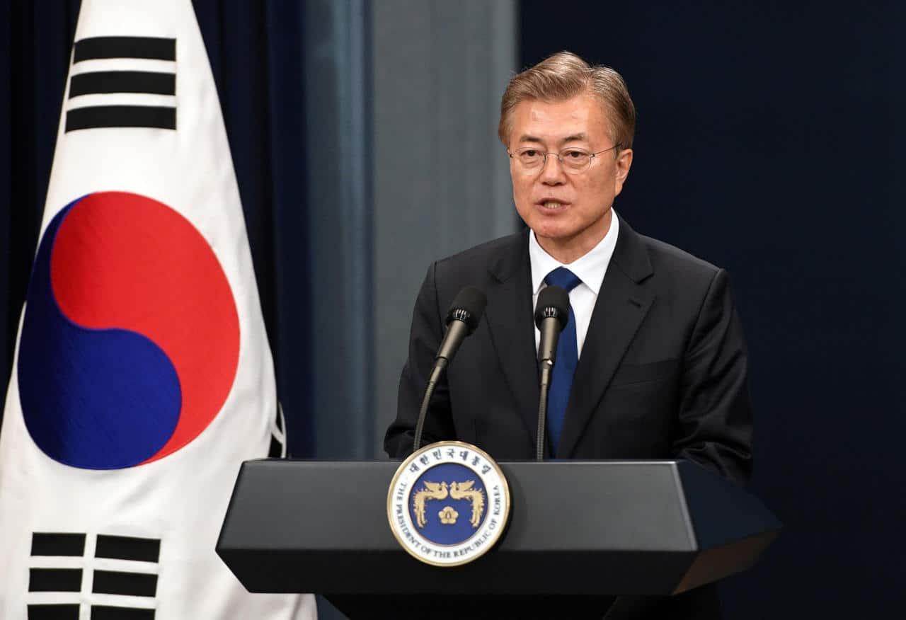 مون جيه إن الرئيس الكوري الجانوبي الثاني عشر