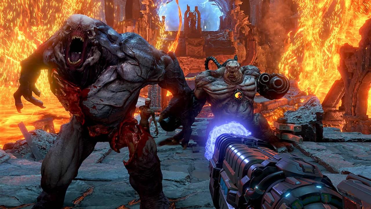تحميل لعبة اطلاق النار Doom للكمبيوتر