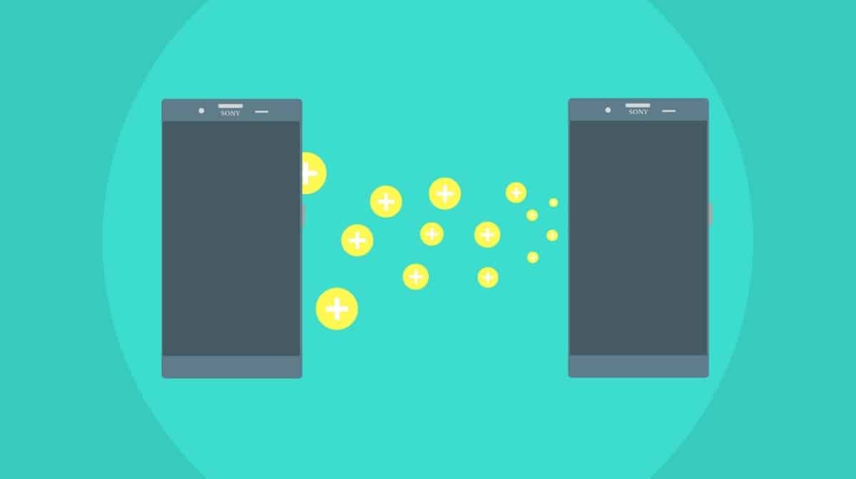 file transfer between two phones