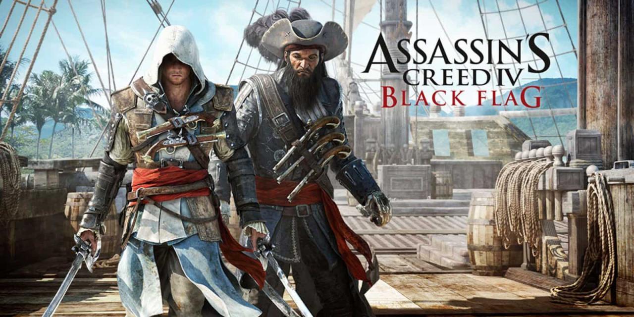تحميل لعبة القتال Assassin's Creed IV: Black Flag للكمبيوتر اخر اصدار