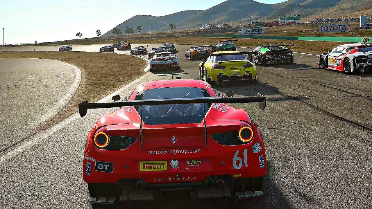 تحميل لعبة سباق السيارات project cars 2 للكمبيوتر