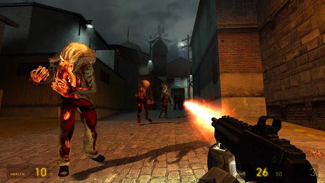 تحميل لعبة اطلاق النار Half Life 2 هاف لايف للكمبيوتر اوف لاين