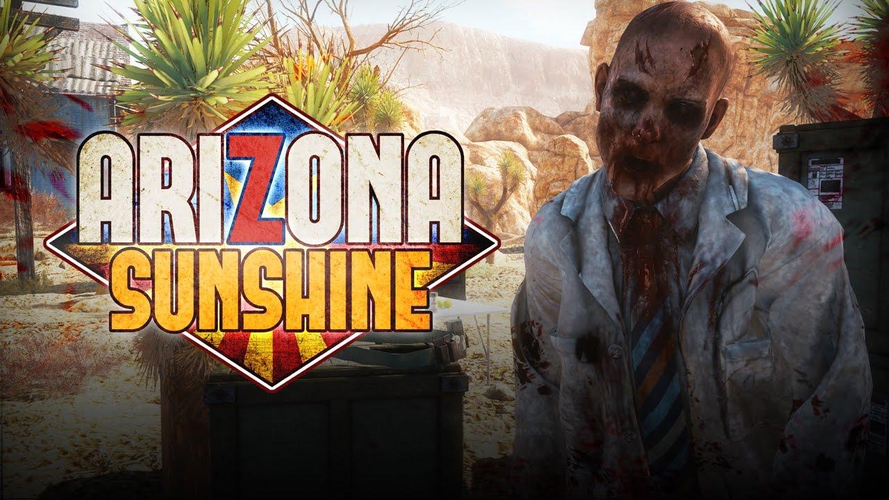 تحميل لعبة Arizona Sunshine اطلاق النار على الزومبي واقع افتراضي VR للكمبيوتر