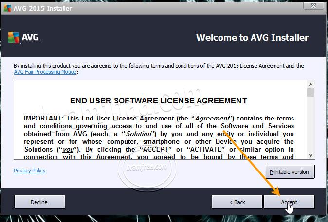 AVG AntiVirus Free 3