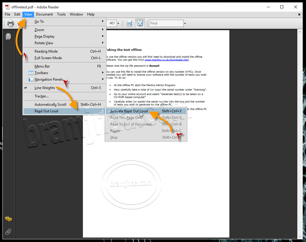 Adobe Reader 06
