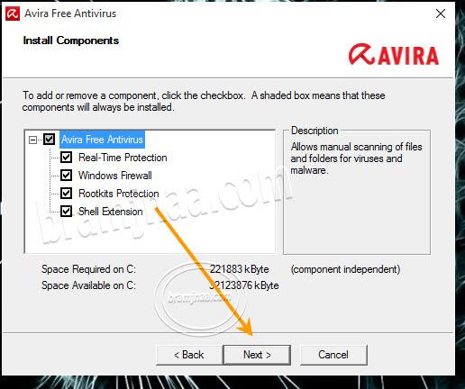 Avira Free Antivirus 4