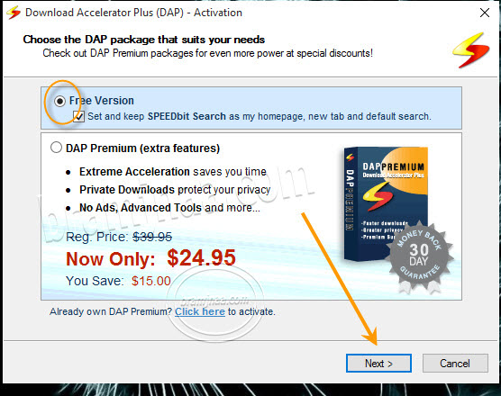 Download Accelerator Plus 5