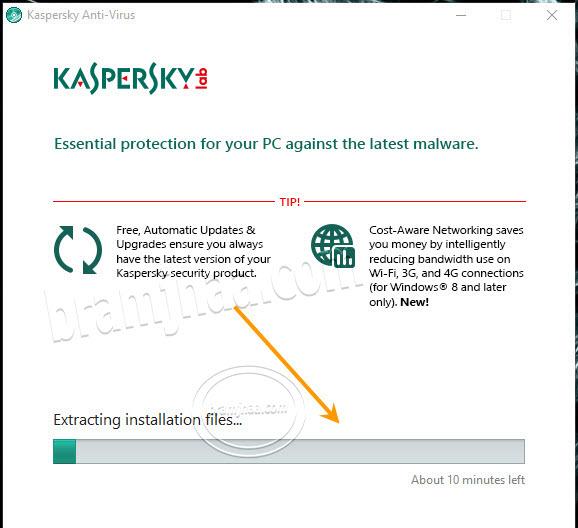 Kaspersky AntiVirus 4