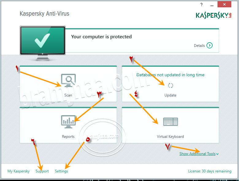 Kaspersky AntiVirus 7