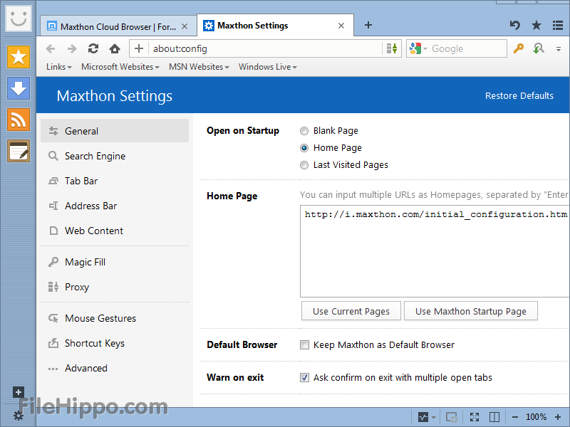 Maxthon Cloud Browser1