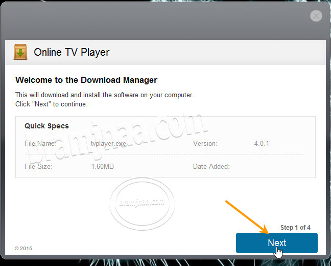 Online TV Player 1