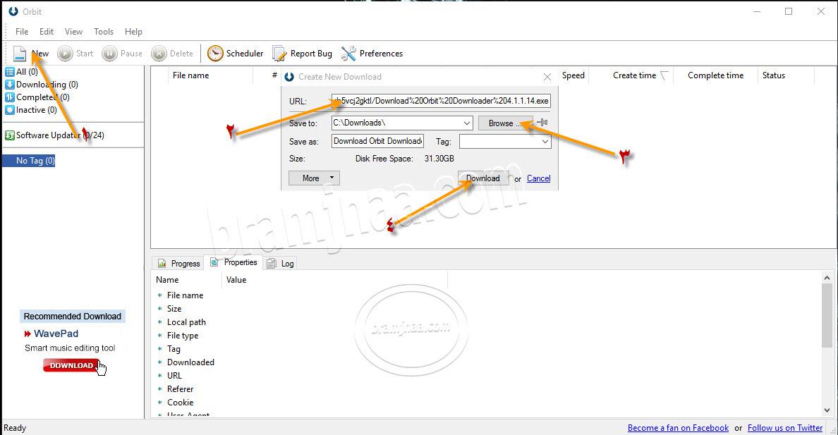 Orbit Downloader 10