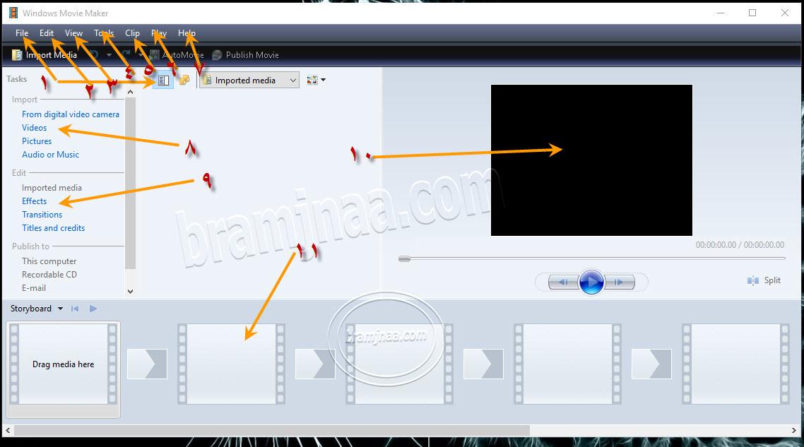 Windows Movie Maker 4