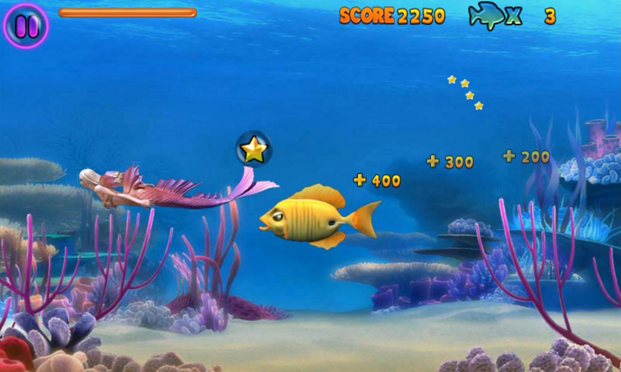 تحميل لعبة السمكة الشقية feeding frenzy