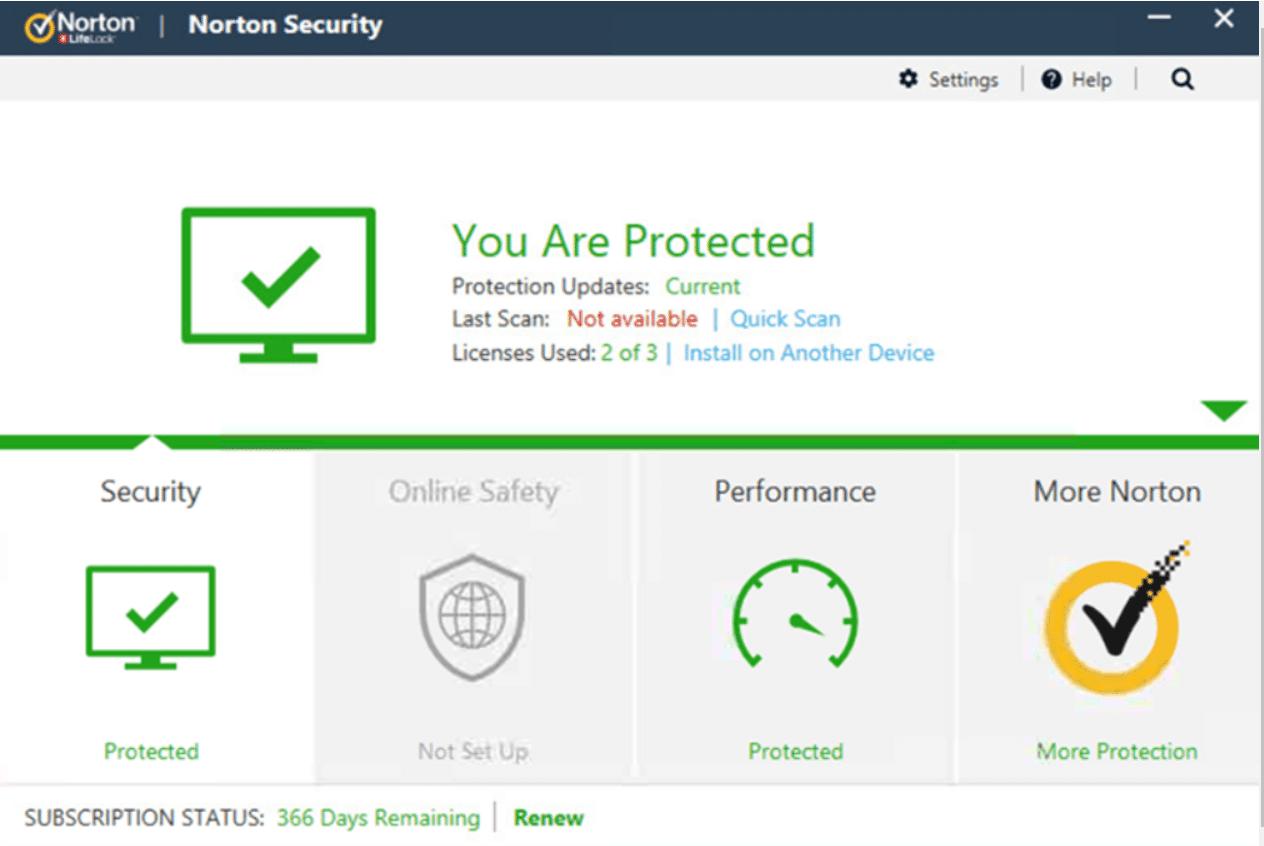 برنامج Norton AntiVirus Plus