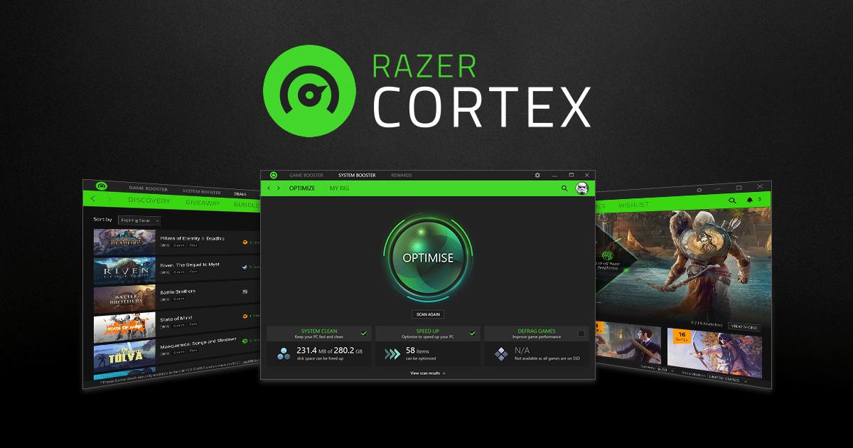 تحميل برنامج Razer Cortex لتحسين أداء الكمبيوتر