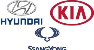 جميع انواع السيارات الكوري وشعارتها