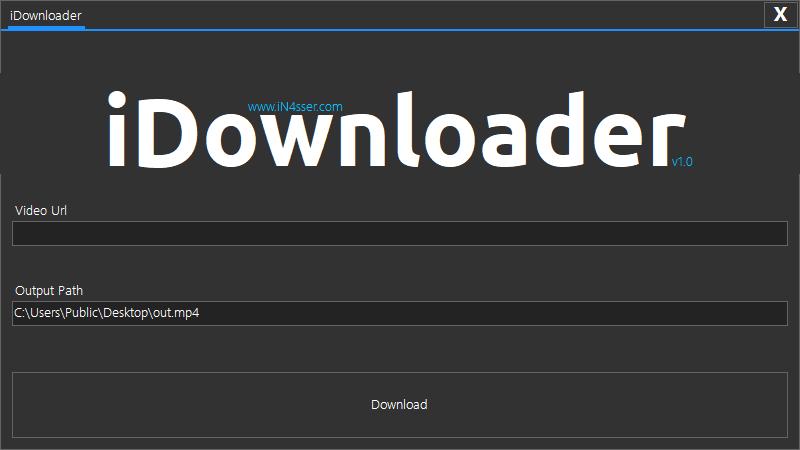 برنامج iDownloader-Download Manager