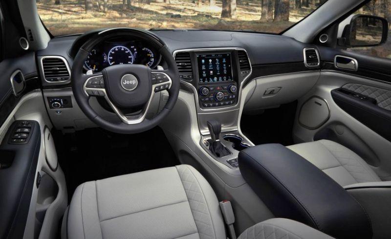 جيب جراند شيروكي 2017 jeep grand sherokee مواصفات و مميزات و عيوب و أسعار