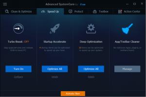 شرح برنامج Advanced systemcare