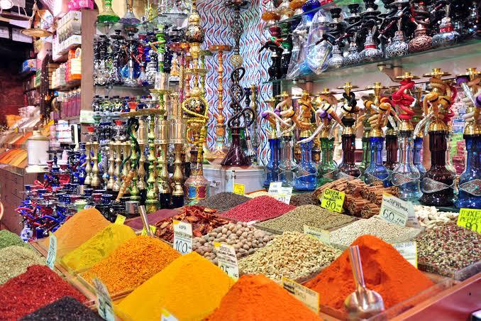 سوق اوزنجول الشعبي