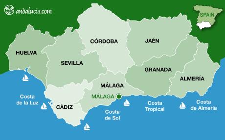 خريطة ملقا
