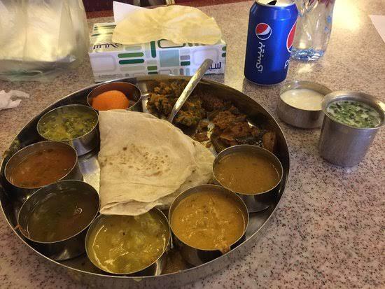 الديوان للمأكولات الهندية الأندلس مول