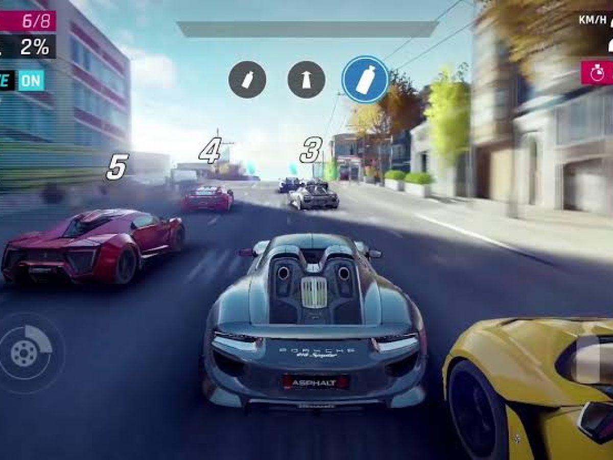 تحميل لعبة سباق سيارات اسفلت للايفون Asphalt 9   برامجنا