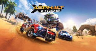 "لعبة Asphalt Xtreme"""