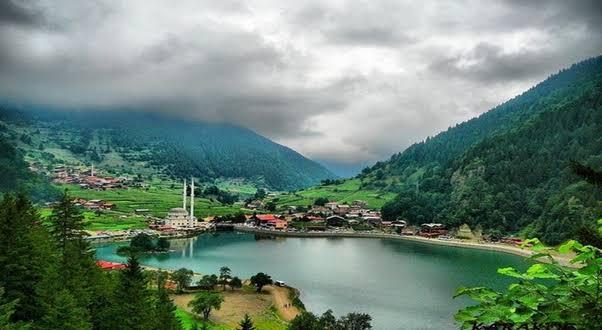 قرية اوزنجول التركية