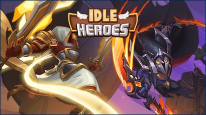 تحميل لعبة idle Heroes أخر اصدار