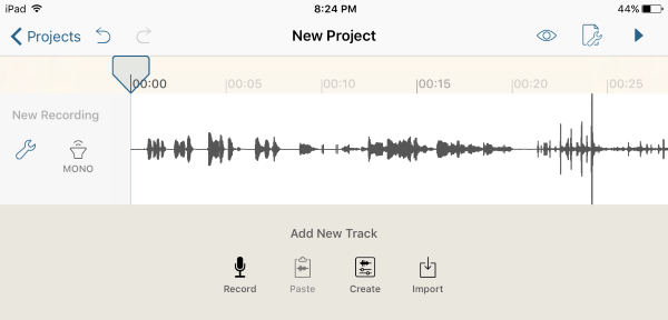 برنامج Hokusai Audio Editor
