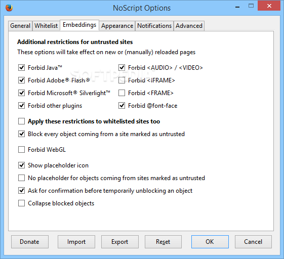 NoScript 2.9.0.12