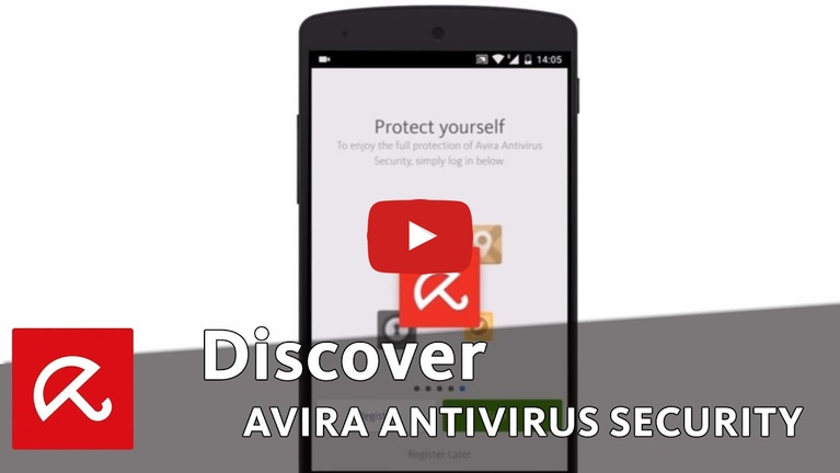 ‪برنامج Avira Mobile Security‬‏