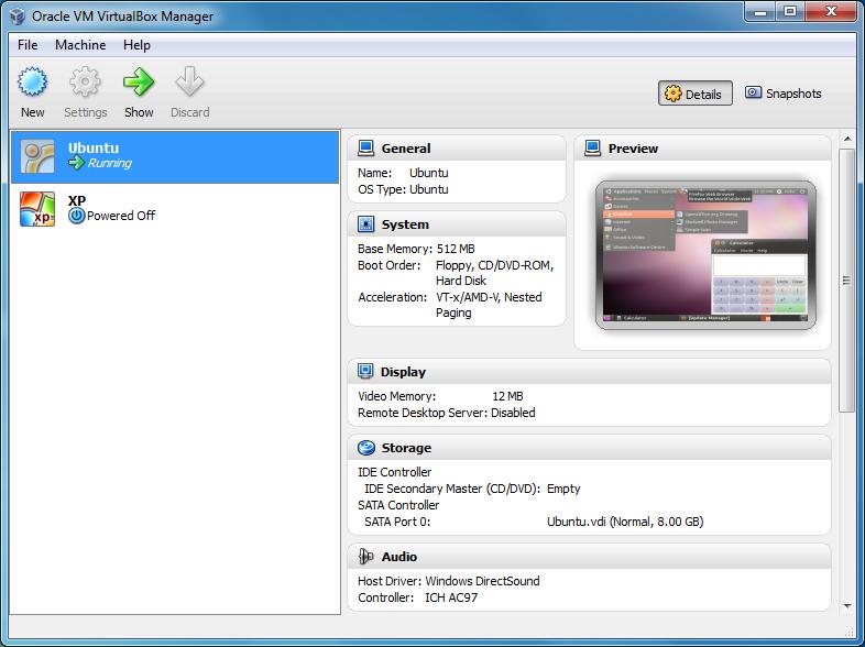 Oracle VM VirtualBox2