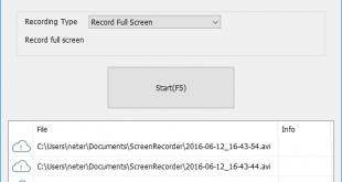 TVT Screen Recorder 1.0