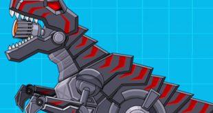نتيجة بحث الصور عن Robot Dinosaur Black T-Rex