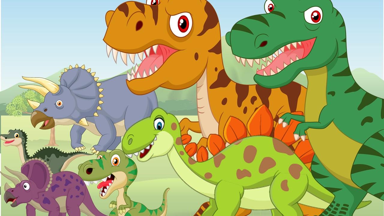 العاب ديناصورات للاطفال