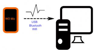 تحميل برنامج WO Mic لتحويل الهاتف الى ميكروفون احترافي
