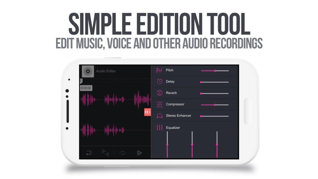 برنامج Audio Editor Tool
