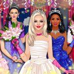 تلبيس ملكة الحفلة - نجمة المدرسة الثانوية الصاعدة