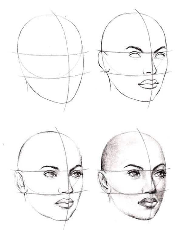 برنامج رسم الوجه