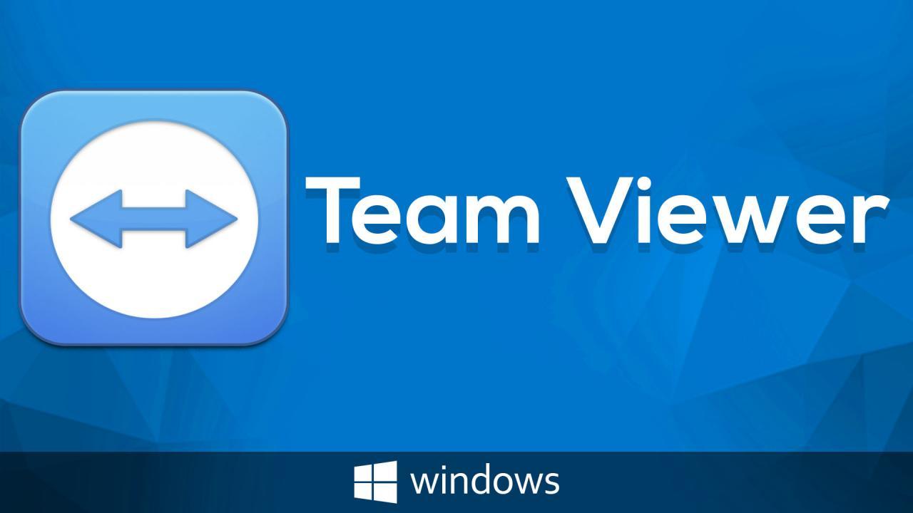 تحميل برنامج تيم فيور Team Viewer للتحكم فى الكمبيوتر عن بعد
