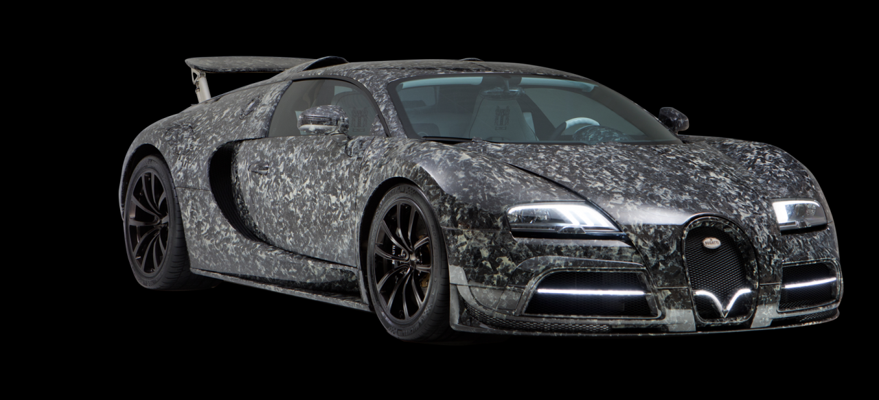 Limited Edition Bugatti Veyron by MansoryVivere ليميتيد إيديشن بوغاتي فيرون